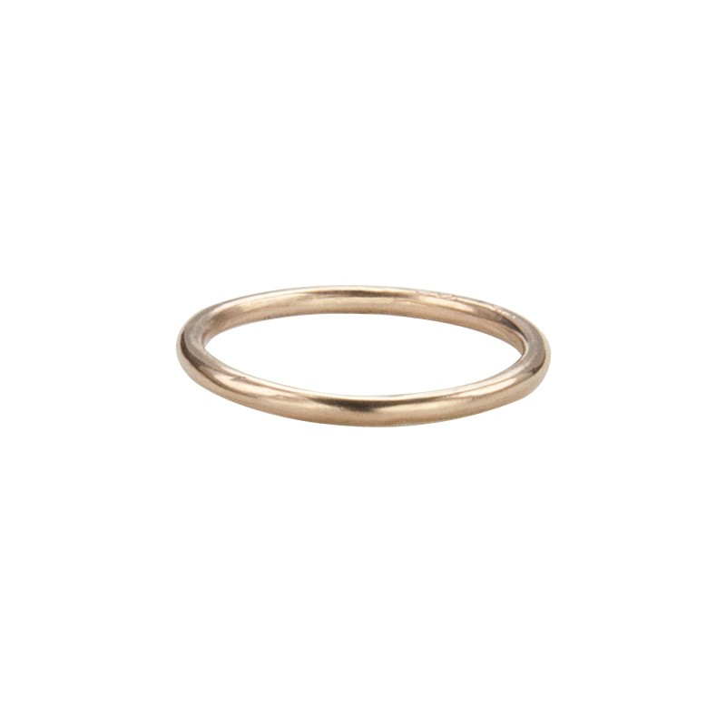Super Skinny Rose Gold Ring