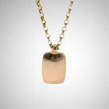 Medium Rose Gold Dog Tag