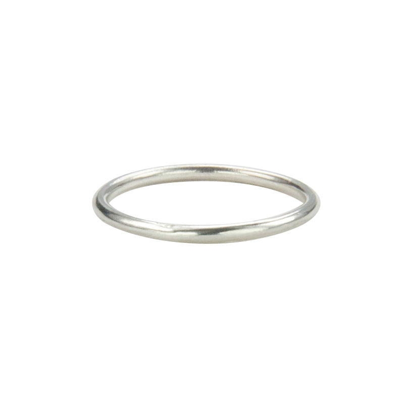 Super Skinny Silver Ring