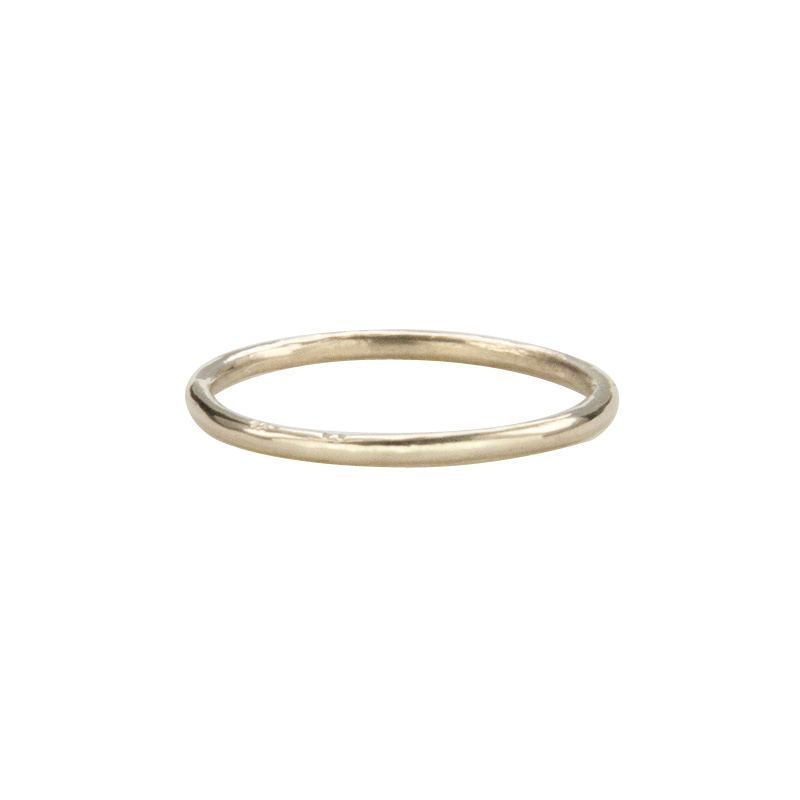 Super Skinny Yellow Gold Ring